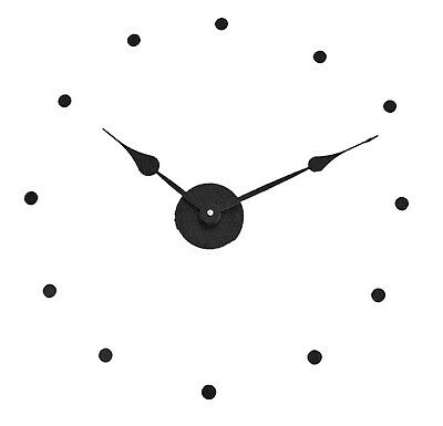 Large DIY 17 inch plus wall mount Clock Kit with 8-1/4