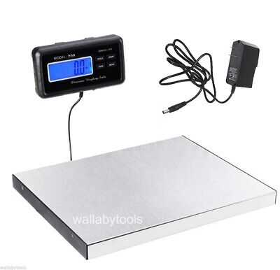 440lbs 200kg Lcd Display Digital Floor Bench Scale Pet Postal Platform Shipping