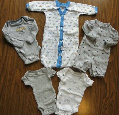 Preemie Baby Boy Clothes Lot