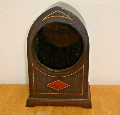 Antique Seth Thomas Gothic Beehive Mantel Clock Case (Original Finish) Vintage