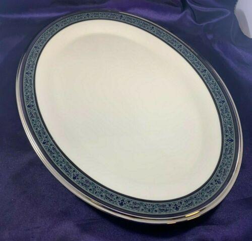 """Lenox MOONLIGHT MOOD Oval Serving Platter 16 3/8"""""""