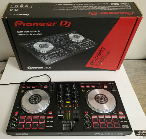 Pioneer DJ DDJ-SB3 Digital Controller for Serato DJ With Box Fast Shipping