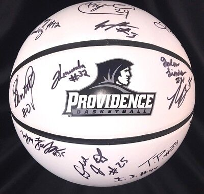 Providence College Friars 2015 NCAA Team Signed Basketball w/ COA (Cert of Auth) ()