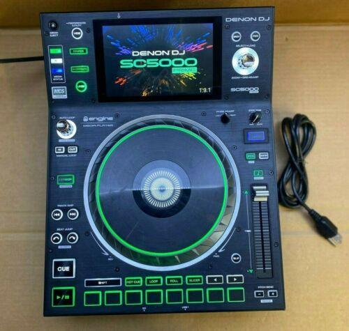 "Denon DJ SC5000 Prime DJ Media Player with 7"" Multi-touch Display"