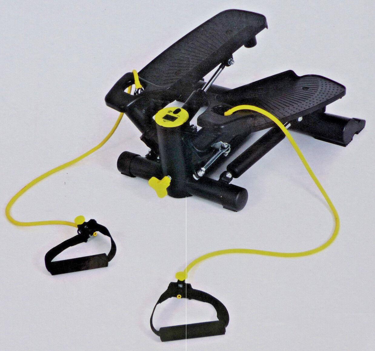 Swing Stepper Computer mit digitaler Anzeige Fitness Expander Heimtrainer / NEU!