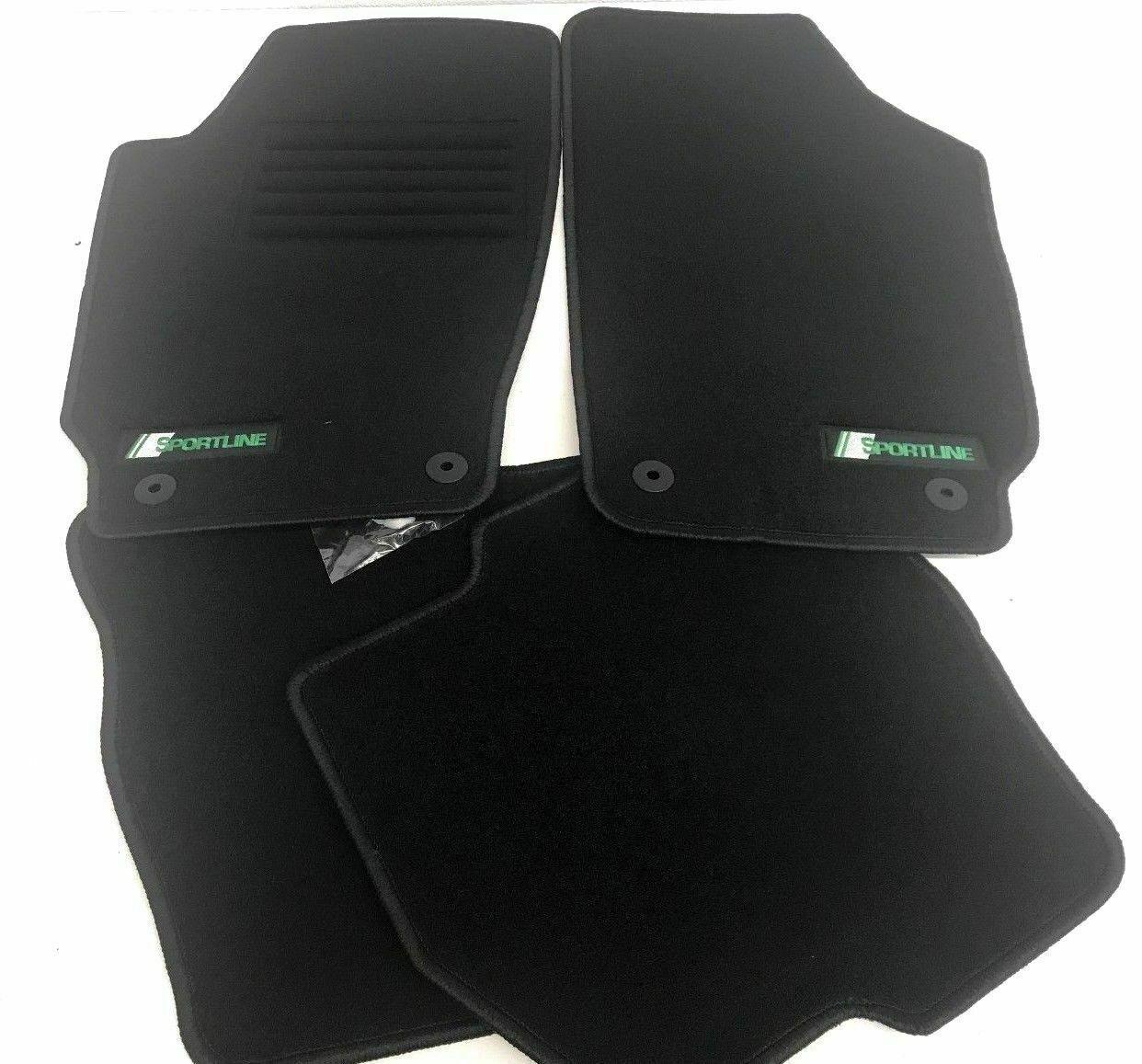 Skoda Superb 1 Premium Fußmatten Velours Automatten BJ.2001-2008 SPORTLINE**