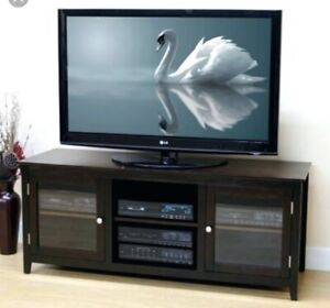 Black TV/Entertainment Stand SIMILAR to picture
