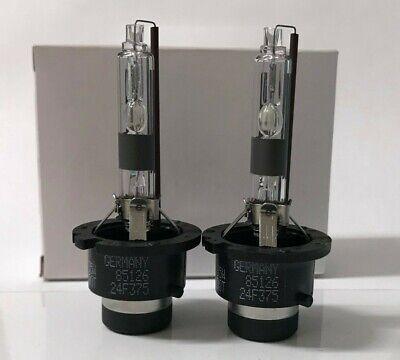 2 New OEM D2R Xenon HID Headlight Bulbs 4300K 85126 66050 66250 90981-20007