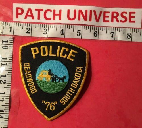 DEADWOOD SOUTH DAKOTA POLICE  SHOULDER PATCH     A039