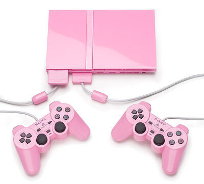 Schön wie ihr Gameplay: PS2 Extra Slim Pink