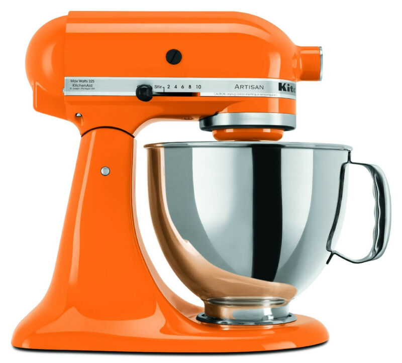 Kitchenaid Mixer Orange Ebay