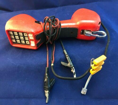 HARRIS DRACON TS21 Buttset test set vintage telephone handset