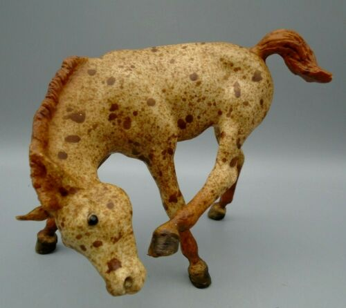 Vintage Breyer Horse Scratching Foal Heavy Red Roan Model #170
