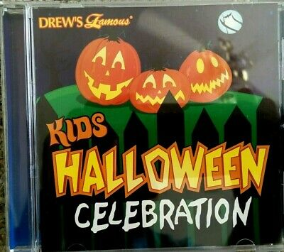 ALLOWEEN CELEBRATION SPOOKY PARTY MUSIC, SOUNDS & STORIES CD (Halloween Spooky Kids)