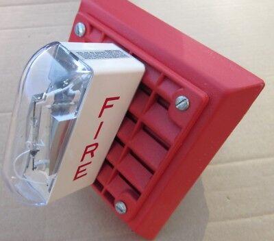 Wheelock Et-1080 Lsm-24 Wall Speaker Strobe