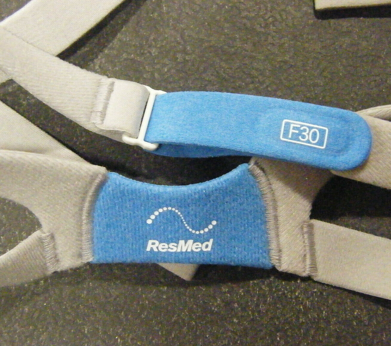 Resmed Airfit  F30 Headgear Blue for CPAP  Mask Replacement