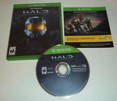 Halo: The Master Chief Collection (Microsoft Xbox One, 2014) Complete Good shape comprar usado  Enviando para Brazil