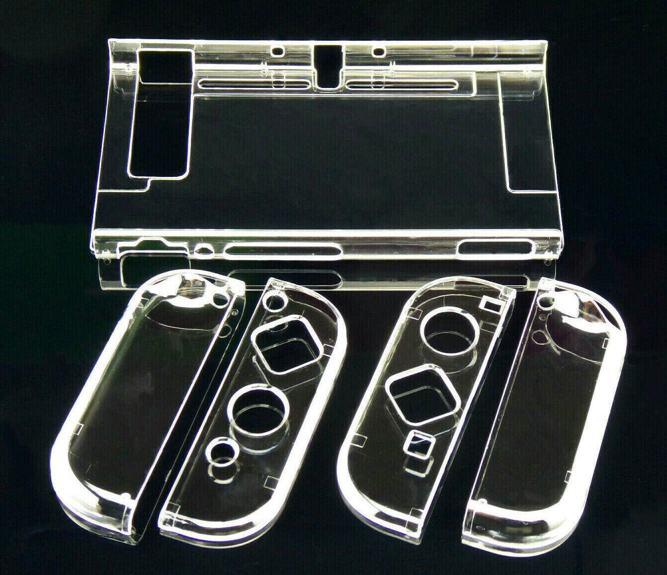 Crystal Schutzhülle Case Hardcase Cover für Nintendo NS Switch Konsole + Joy-Con