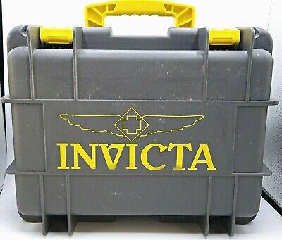 Invicta Waterproof Dive Protective Case 8 Slot Gray Grey Boat Dry Box Lockable