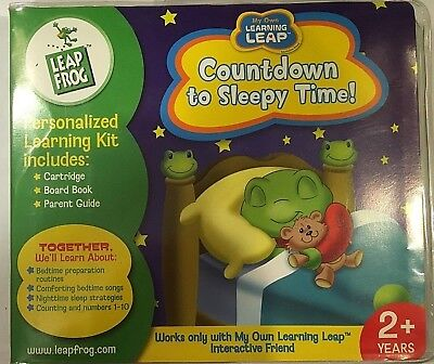 New Leap Frog My Own Learning Leap Countdown To Sleepy Time Age 2  Free Us Ship