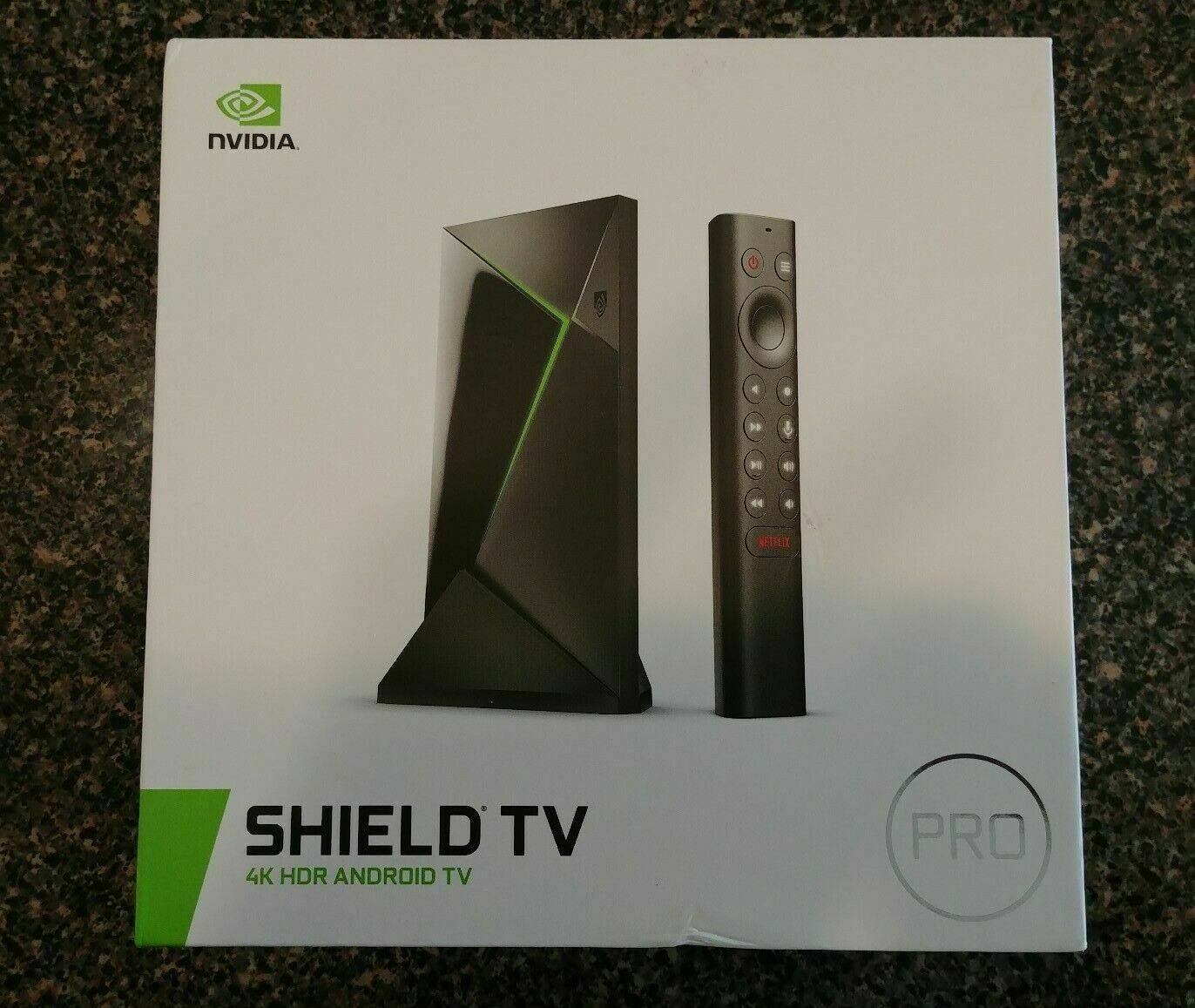 NVIDIA Shield Android TV Pro 4K HDR Streaming Media Player H