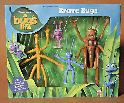 DISNEY A BUG'S LIFE BRAVE BUGS ACTION FIGURES ()