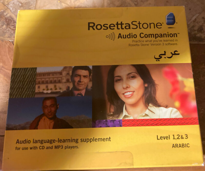 Rosetta Stone Arabic / Level 1, 2 & 3 Audio Companion