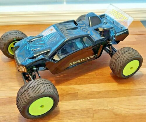 TLR 22T 1/10 STADIUM TRUCK WITH UPGRADES - TEAM LOSI RACING