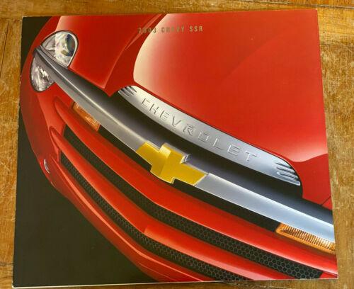 2003 Chevrolet SSR Original sales brochure folder