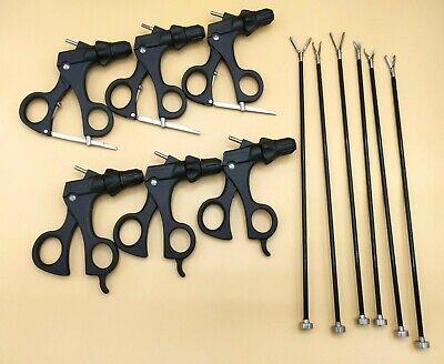 Laparoscopy Grasper Set Of 6 Laparoscopic Instruments 5mmx330mm Autoclave