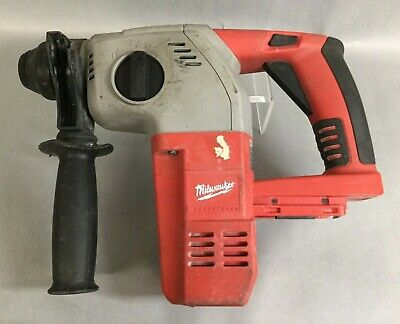 Milwaukee Heavy-duty 28v Rotary Hammer Tool-only 0756-20 Preowned