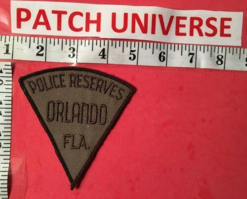ORLANDO FLA  POLICE  RESERVES  SHOULDER  PATCH  B103