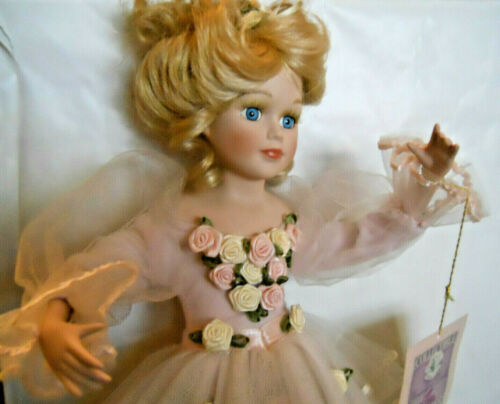 """Doll W/Tag Beautiful Ballerina """"Giselle"""" Collectible Memories Porcelain Doll 16"""""""
