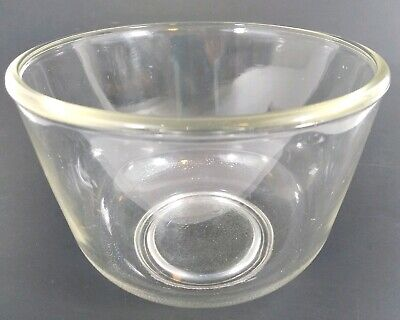 Vintage Sunbeam Mixmaster Oster Kitchen Center Part Small Glass Mixing Bowl