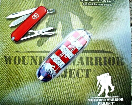 Victorinox CLASSIC SD Wounded Warrior Project US FLAG Original Swiss Army Knife