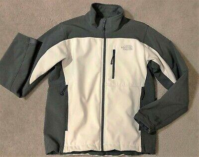 $149 The North Face Apex Bionic Jacket Two Tone Cream/Grey Men's M Medium