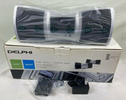Delphi Audio Sirius XM Boombox SA10201 Satellite Radio No Radio