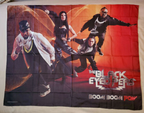 BLACK EYED PEAS Fabric Poster  Rock Flag/Tapestry/Fabric Poster   NEW