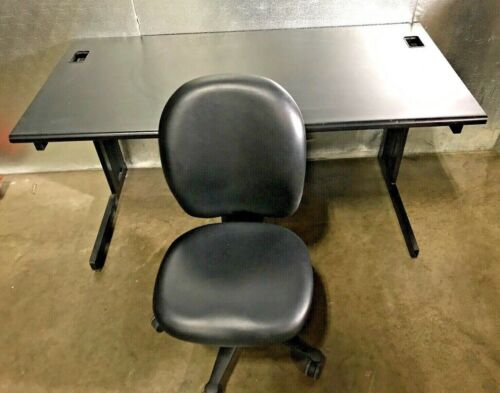Office Desk 5ft. With Herman Miller Leather Chair