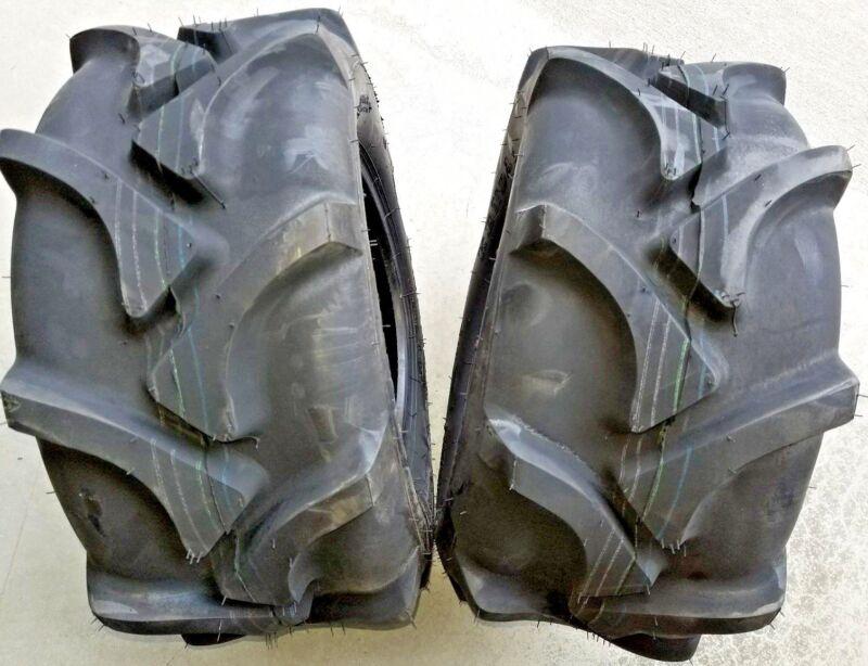 2 - 20x8.00-10 4 Ply AG Traction Lug Tires Kenda K378 20x8.0-10 20x8-10 810-4AGR