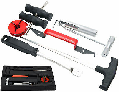 7pc Professional Windshield Removal Automotive Wind Glass Remover Tool Kit