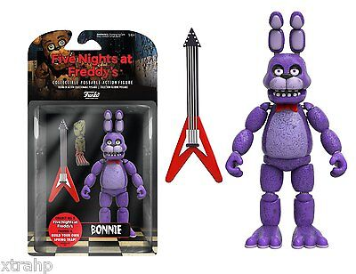 New Authentic Five Nights At Freddys Bonnie 5  Figure In Stock Baf Spring Trap