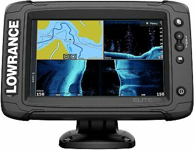 Lowrance Elite TI-2 Fishfinder with Active Imaging 3-in-1 So