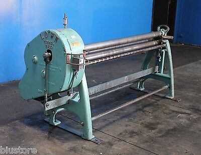 24 Gauge X 5 Lown Power Sheet Metal Roll Metal Bender Metal Former Roller Hvac
