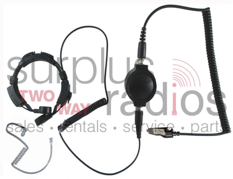 NEW THROAT MIC HEADSET FOR KENWOOD RADIO TK280 TK380 TK3180 TK2180 TK2140 TK3140
