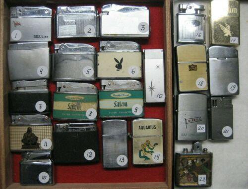 /Vintage Lighters Collection Lot of 22,vintage
