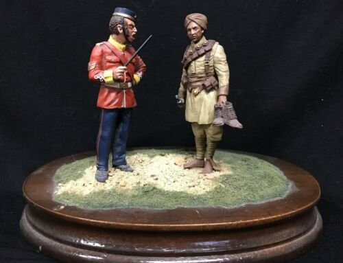 """Little General 90 mm: """"LATE FOR REVELLE"""" (British in India)   BE54E"""