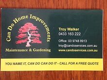 Handyman Carpenter, Paint & Decorate, Bathrooms, glass repairs  Hoppers Crossing Wyndham Area Preview