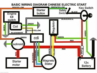 Completo Electrics Arnés De Cableado, Quad Wiring Diagram
