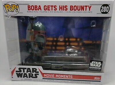 "NEW ""Boba Gets His Bounty"" Funko NIB With Lando Calrissian Keychain"